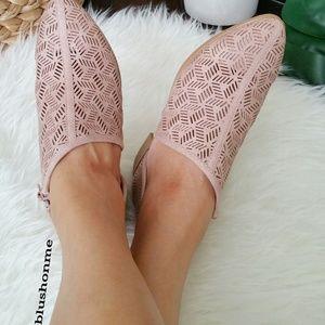 Shoes - Laser Cut Side Cut Flat